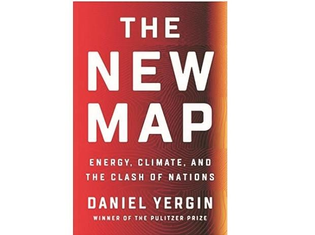 Book cover of THE NEW MAP: Energy, Climate, and the Clash of Nations