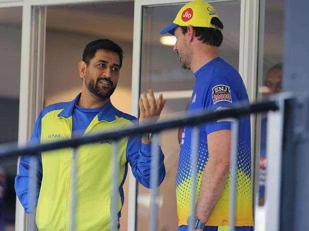 MS Dhoni, Dhoni, CSK, Stephen Fleming