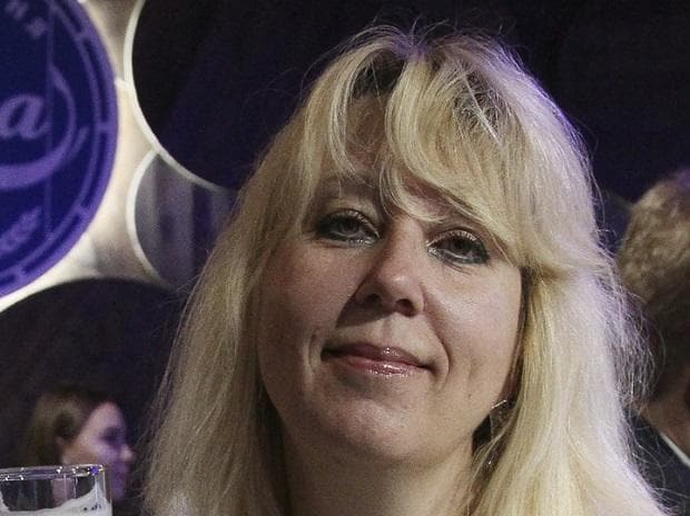 Russia's Investigative Committee confirmed the death of Koza Press editor Irina Slavina (in pic) in Nizhny Novgorod, a city of 1.2 million about 380 kilometers east of Moscow. (Photo: AP)