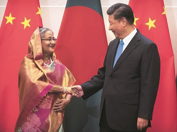 Xi jinping, Sheikh Hasina, china, bangladesh