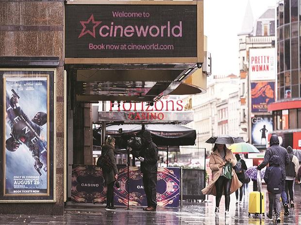 Cineworld Group, cinema, UK, theatre