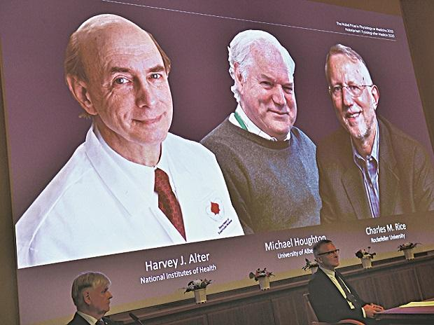 The 2020 Nobel Prize in Physiology or Medicine has been awarded jointly to Harvey J. Alter, Michael Houghton and Charles M. Rice