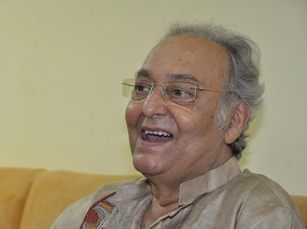 Soumitra Chatterjee. Photo: Wikipedia