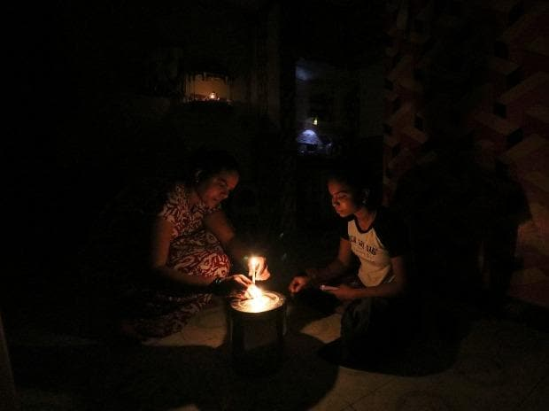 Power outage, Mumbai