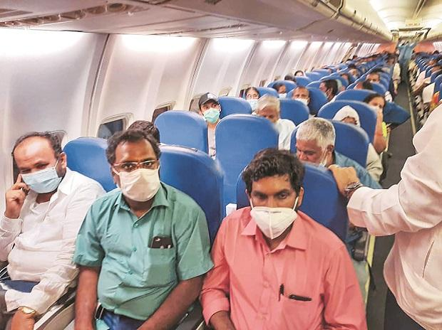 flights, coronavirus, passengers, vande bharat mission
