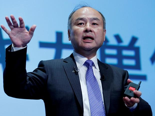 Japan's SoftBank Group Corp Chief Executive Masayoshi Son attends a news conference in Tokyo. Photo: Reuters