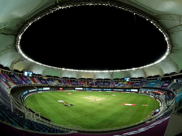 The general full and wide view of the DSC during match 47 of season 13 of the Dream 11 Indian Premier League (IPL) at the Dubai International Cricket Stadium, Dubai in the United Arab Emirates on the 27th October 2020. Photo: Sportzpics for BCCI