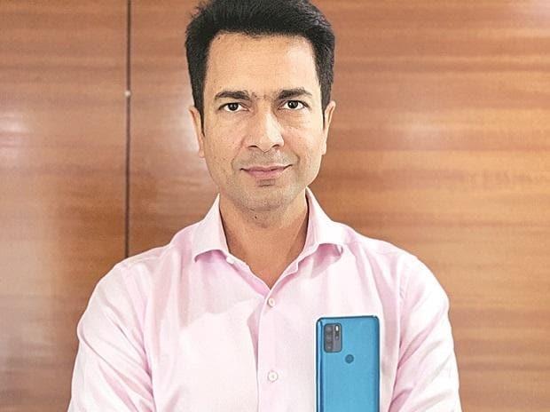 Rahul Sharma, co-founder of Micromax Informatics