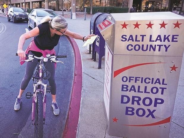 us presidential elections, mail-in, voting, ballot, polls, voters