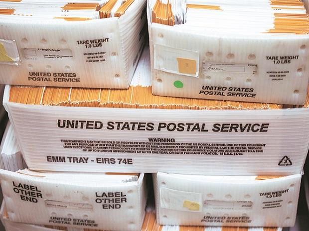 US Postal Service, postal ballots, mails, mail-in, elections