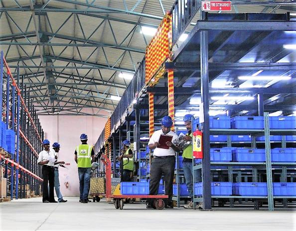 TVS SCS' spare parts warehouse in Pune