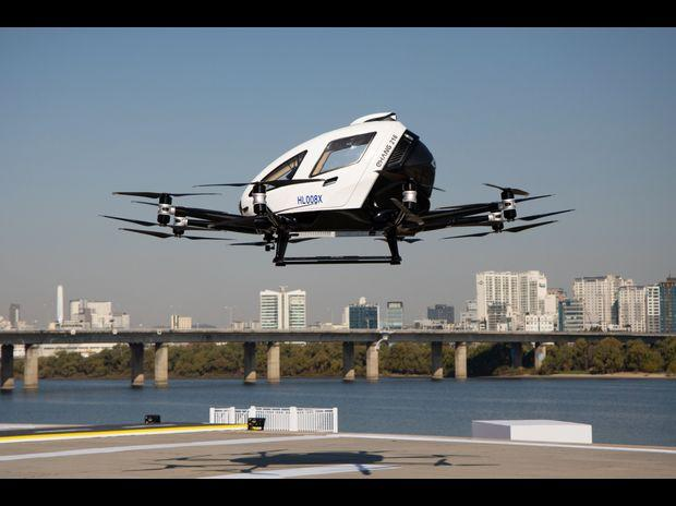 The EHang 216 autonomous aerial vehicle