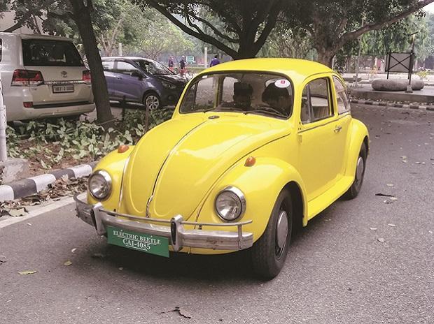 Volkswagen Beetle, vintage car