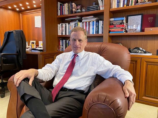 Dallas Federal Reserve Bank President Robert Kaplan. Photo: Reuters