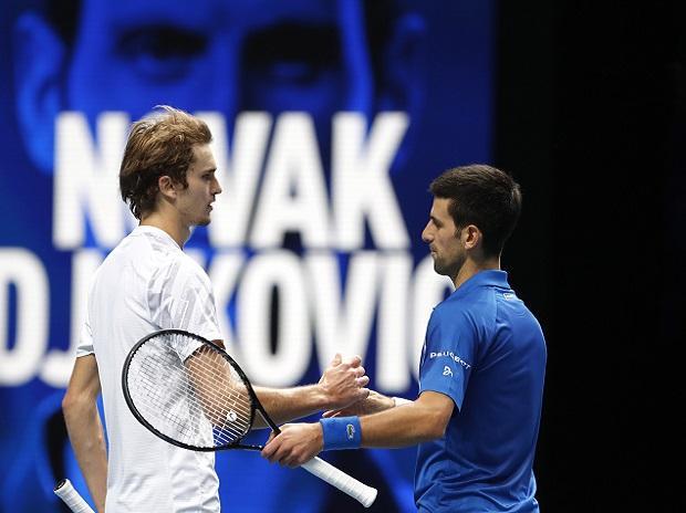Novak Djokovic, zverev