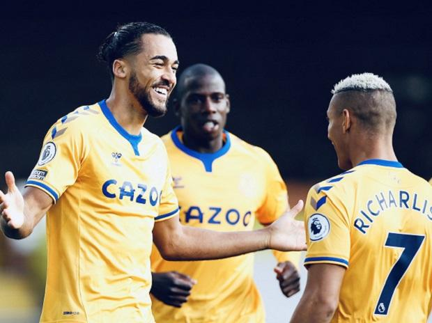 Everton up to second in EPL with 1-0 win at Sheffield United