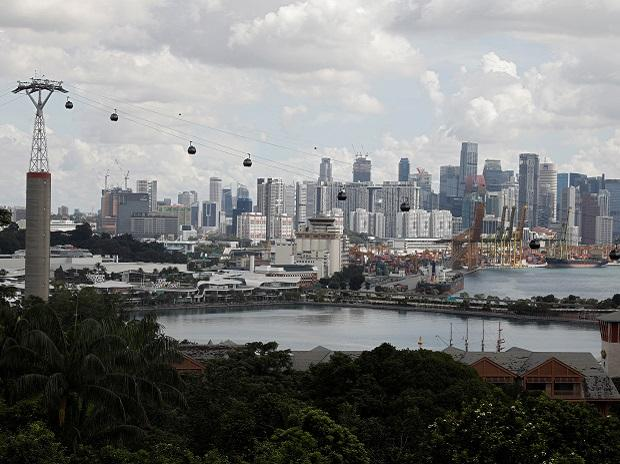 A view of Singapore's skyline. Photo: Reuters