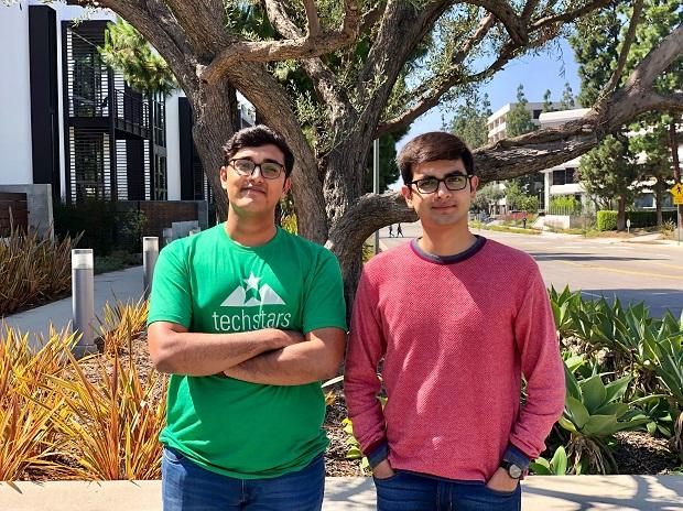 Pixxel co-founders Awais Ahmed (on the right) and Kshitij Khandelwal (on the left)