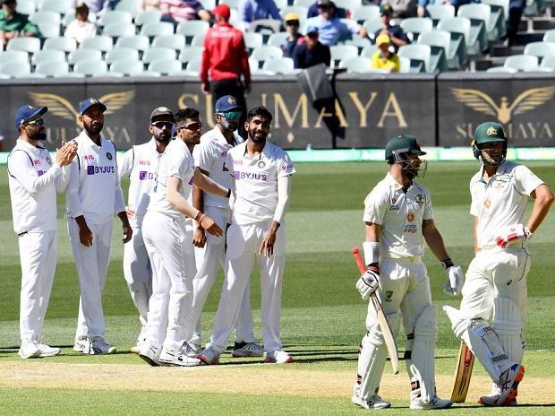 India vs Australia. Photo: @cricketcomau
