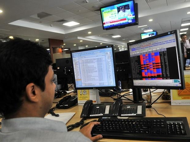 MARKET LIVE: Indices trade higher in volatile session; realty stocks gain