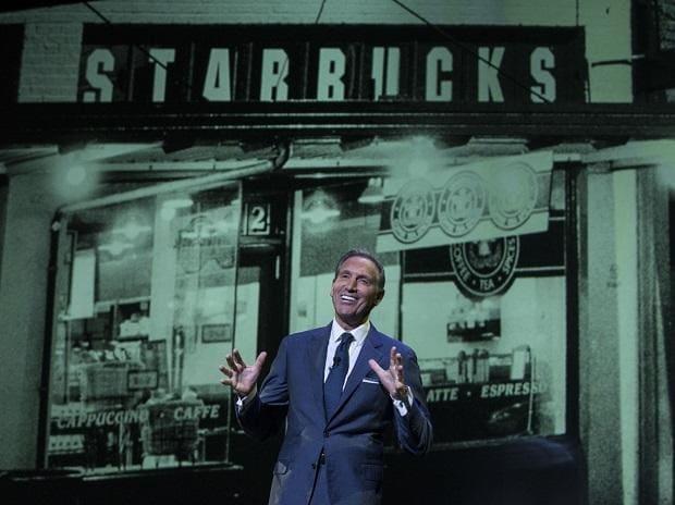 Howard Schultz, Chairman Emeritus of Starbucks.