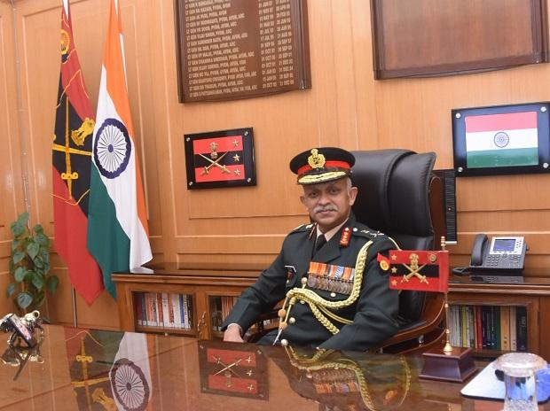 Lt Gen Chandi Prasad Mohanty takes charge as Vice Chief of Army Staff (Photo: PIB Twitter)