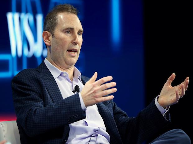 Andy Jassy, CEO Amazon Web Services, speaks at the WSJD Live conference in Laguna Beach, California, US