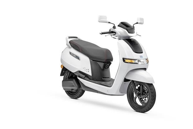 TVS Motor Company launches 'TVS iQube Electric' scooter in New Delhi