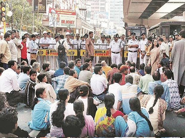 West Bengal, elections, protests