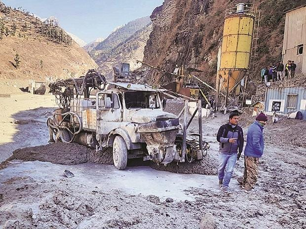 Uttarakhand glacier burst, flood, rescue operations, Dhauliganga hydropower project