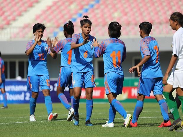 Senior Indian Women's football team