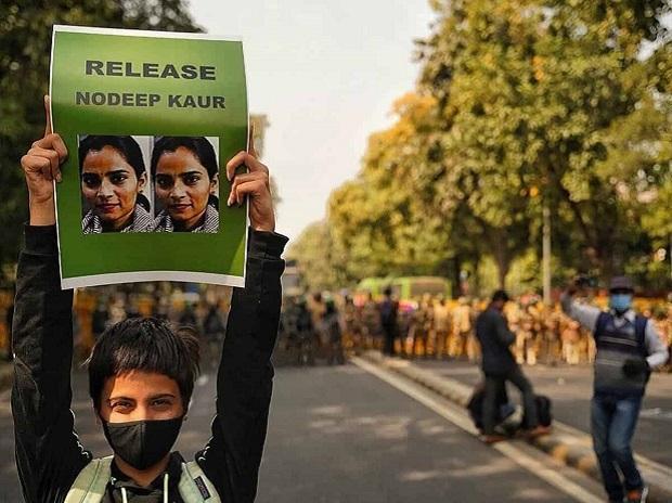 Nodeep Kaur, protests