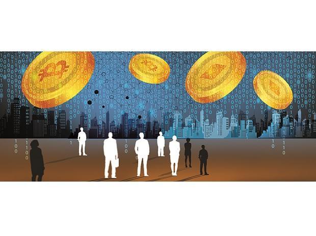 bitcoin, cryptocurrency, digital