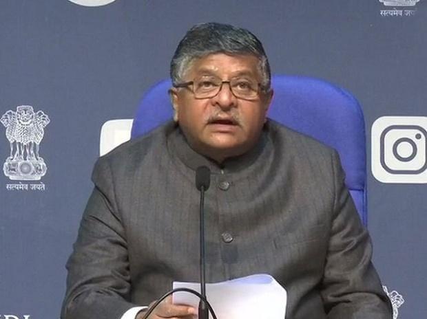 Minister for Electronics and IT Ravi Shankar Prasad