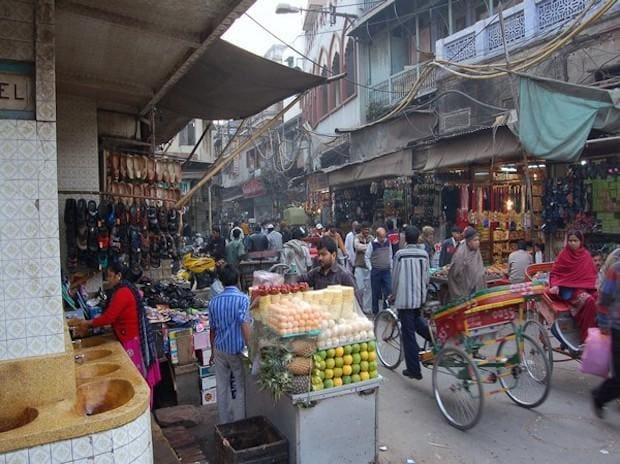 File photo of Chandni Chowk market | Photo: ANI