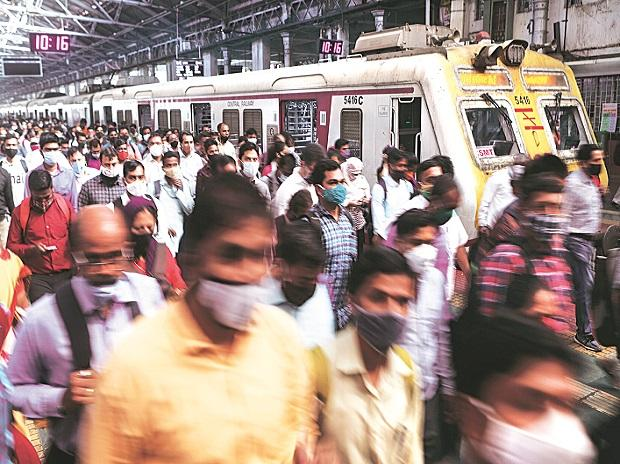 Mumbai, local train, suburban, transport, passengers, people, population, economy, growth, jobs, employment