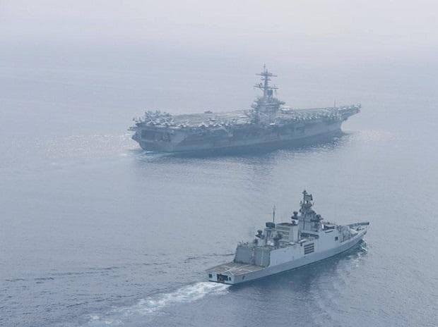 India US Naval exercise