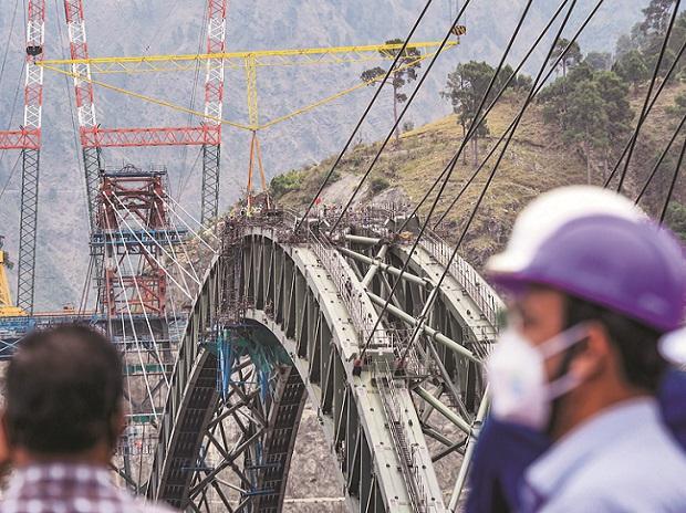railways, Chenab Bridge, world's highest railway bridge