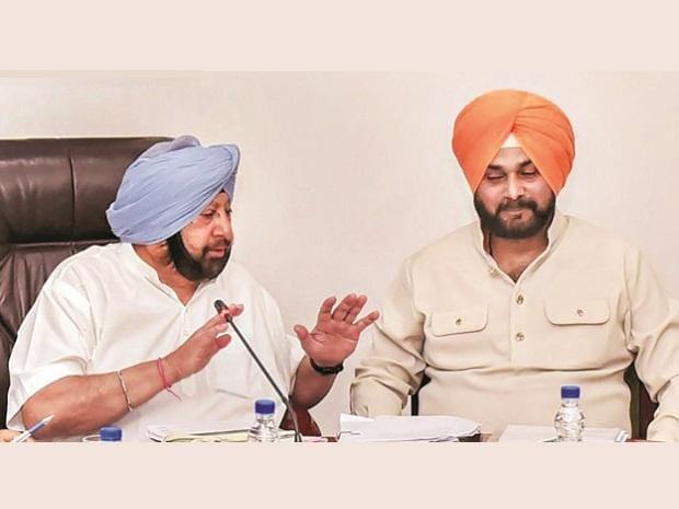 Amarinder Singh, Navjot Sidhu, Punjab Congress