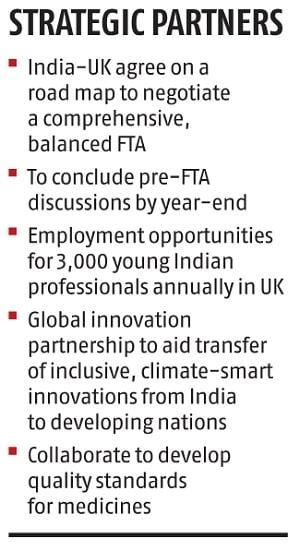 India, UK unveil 10-year road map to elevate bilateral trade partnership