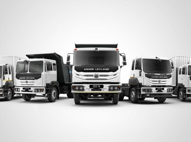 Ashok Leyland May sales rise to 3,199 units from 1,420 units in April