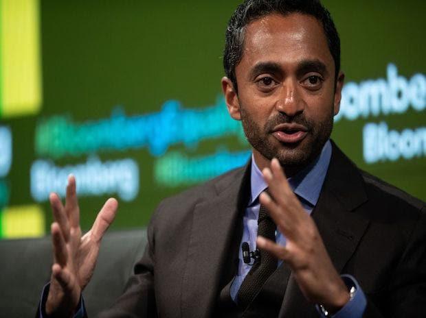 Chamath Palihapitiya. (Photo: Bloomberg)