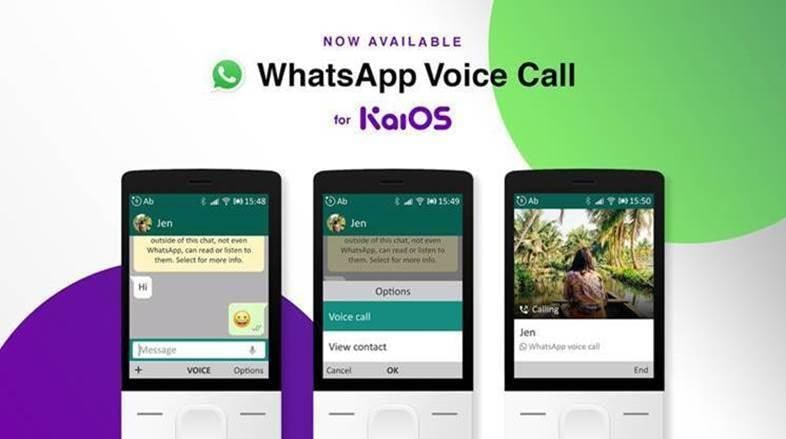 WhatsApp announces VoIP support for KaiOS devices