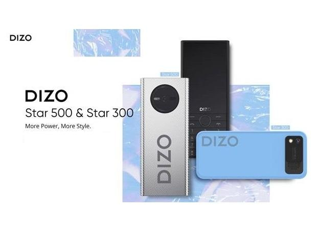 Realme's Dizo launches Star 300, Star 500 feature phones: Price, features