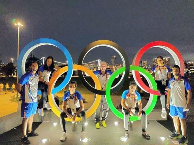 Indian boxers at Tokyo Olympics