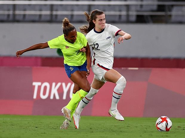 US women's soccer regroups after stunning loss to Sweden