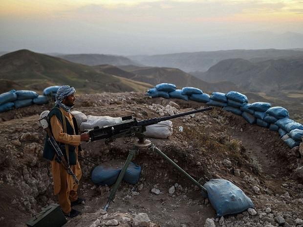 US 'acts through' airstrikes in a bid to repel Taliban, says Pentagon