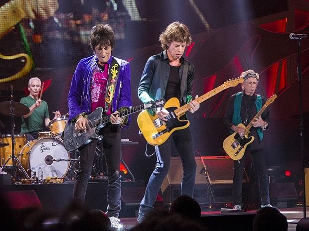 The Rolling Stones at Marcus Amphitheater in Milwaukee, USA, performing at Summerfest festival on June 23, 2015. Photo: Wikimedia Commons