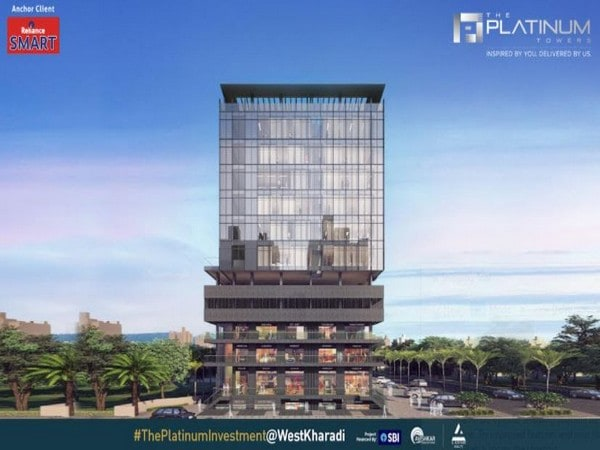 The Platinum Towers, the new commercial hotspot, is designed for every business in the heart of Kharadi