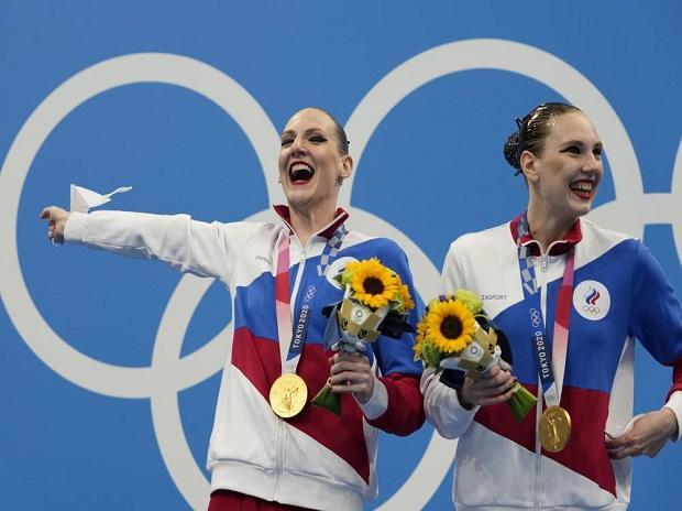 Tokyo 2020: Russia's Svetlana Romashina sets record with 6th Olympic gold
